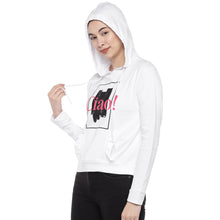 Load image into Gallery viewer, White Printed Sweatshirt-2