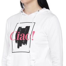 Load image into Gallery viewer, White Printed Sweatshirt-5