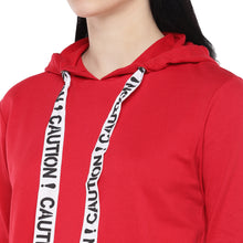 Load image into Gallery viewer, Red Solid Sweatshirt-5