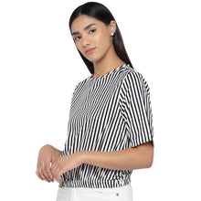 Load image into Gallery viewer, Black Striped Top-2