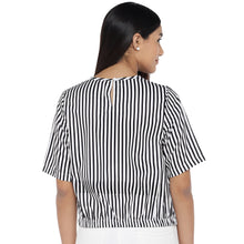 Load image into Gallery viewer, Black Striped Top-3