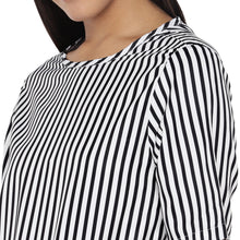Load image into Gallery viewer, Black Striped Top-5
