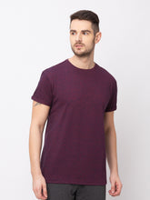 Load image into Gallery viewer, Globus Maroon Solid T-Shirt-1