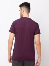 Load image into Gallery viewer, Globus Maroon Solid T-Shirt-3