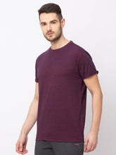 Load image into Gallery viewer, Globus Maroon Solid T-Shirt-2