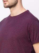 Load image into Gallery viewer, Globus Maroon Solid T-Shirt-4