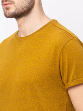 Load image into Gallery viewer, Globus Mustard Solid T-Shirt-4