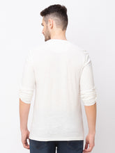 Load image into Gallery viewer, Globus Off white Solid T-Shirt-3