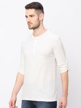 Load image into Gallery viewer, Globus Off white Solid T-Shirt-2