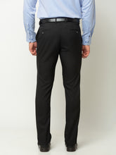 Load image into Gallery viewer, Globus Black Solid Trousers-3
