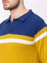Load image into Gallery viewer, Globus Mustard Colourblocked Pullover Sweater-4