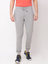 Load image into Gallery viewer, Globus Grey Melange Solid Joggers-1