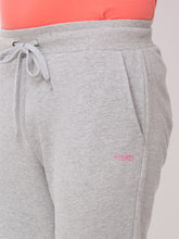 Load image into Gallery viewer, Globus Grey Melange Solid Joggers-4