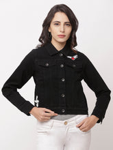 Load image into Gallery viewer, Globus Black Solid Jacket-1