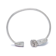 Load image into Gallery viewer, Globus Silver and Pink and Blue Ethnic Bracelet-3