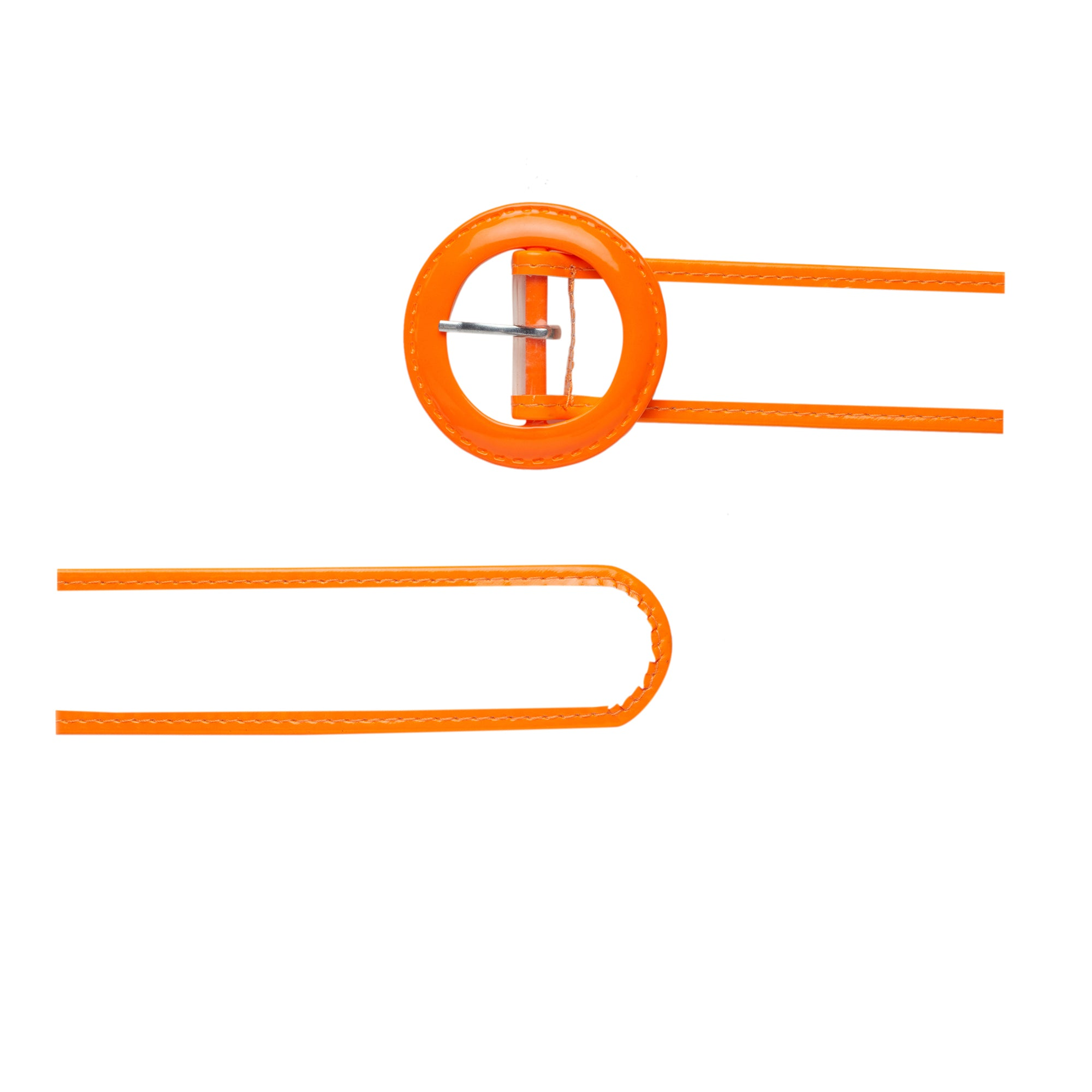 Globus Orange Thick Belt-3