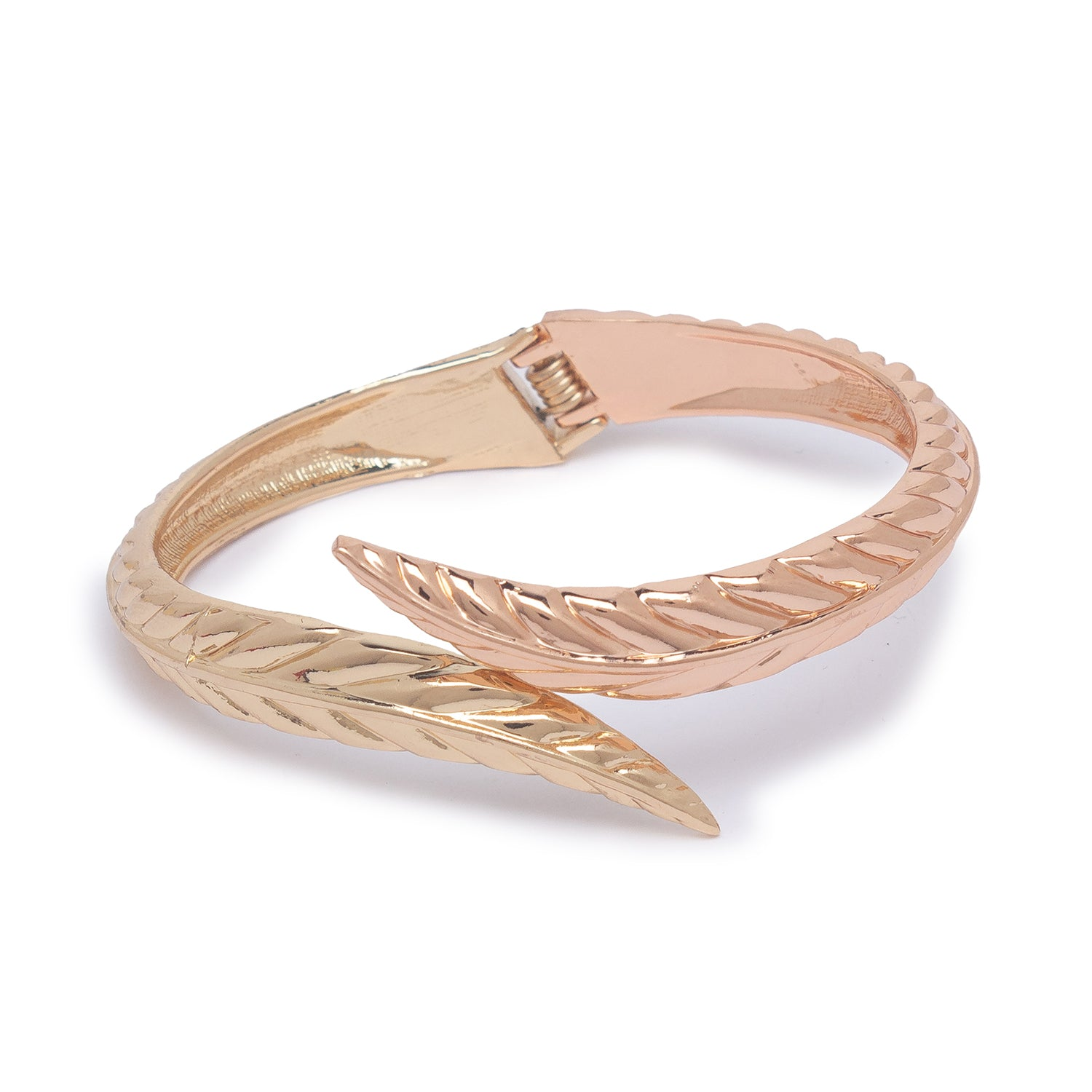 Globus Gold and Rose Gold Cuff-1