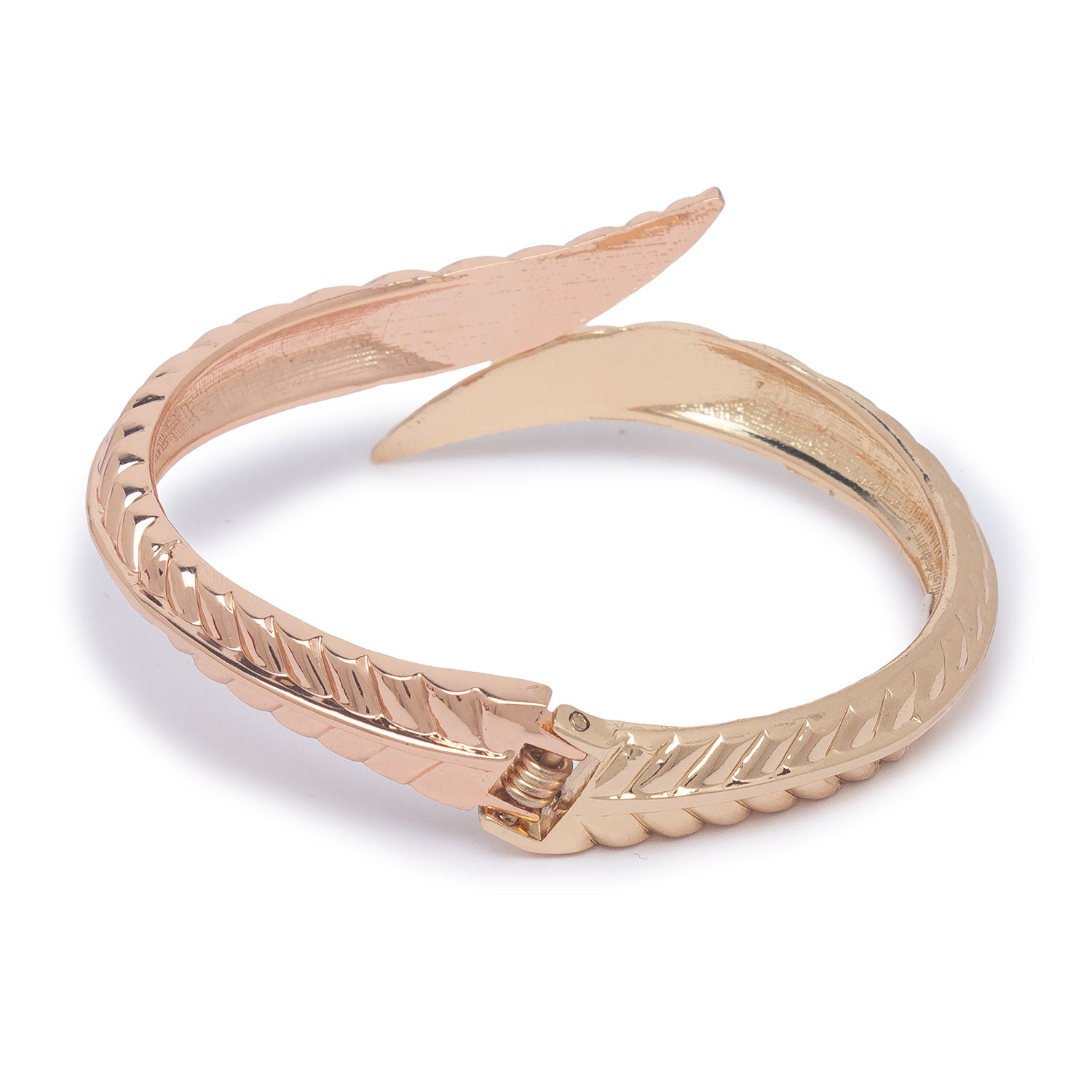 Globus Gold and Rose Gold Cuff-2