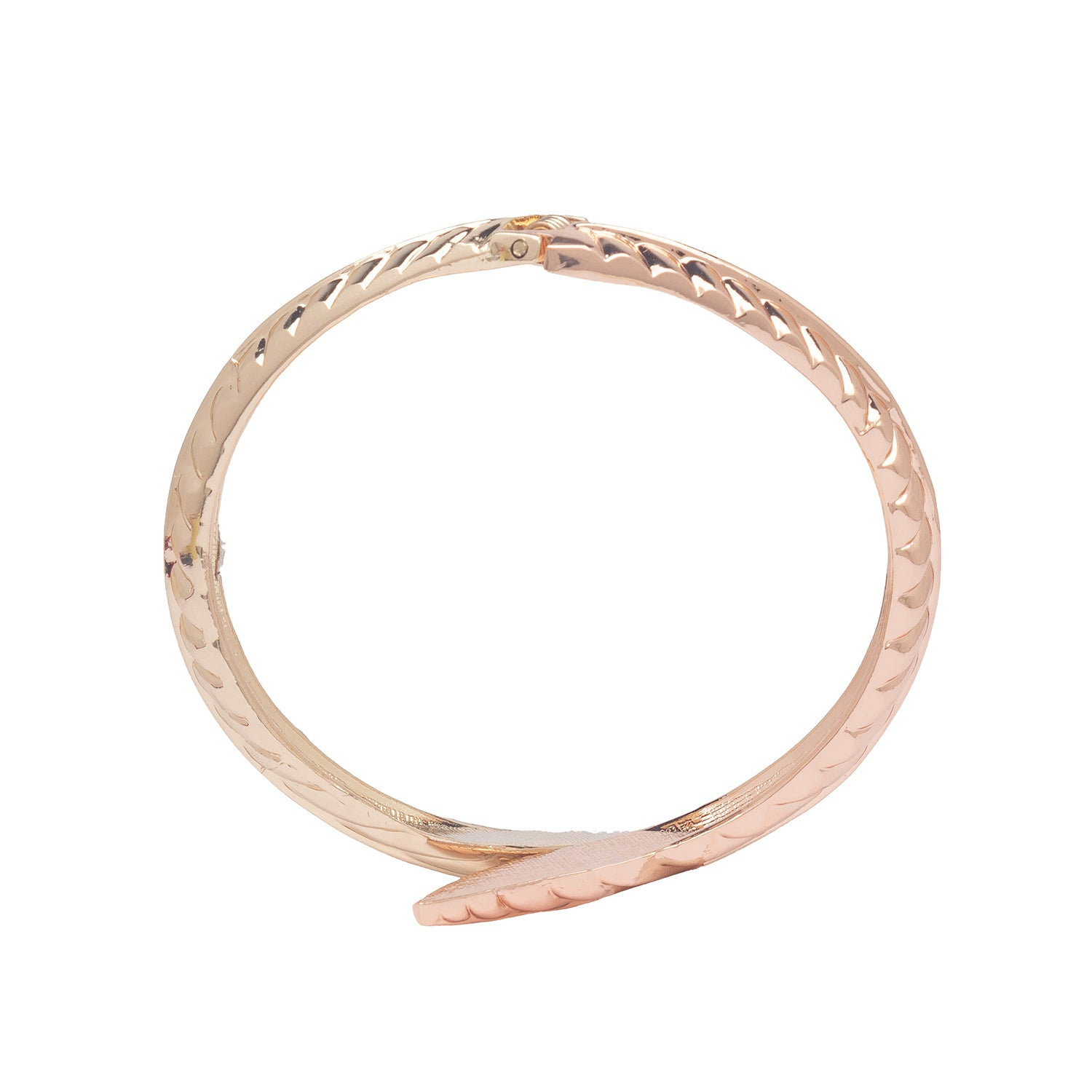 Globus Gold and Rose Gold Cuff-3
