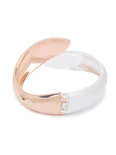 Load image into Gallery viewer, Globus Rosegold and Silver Cuff-2