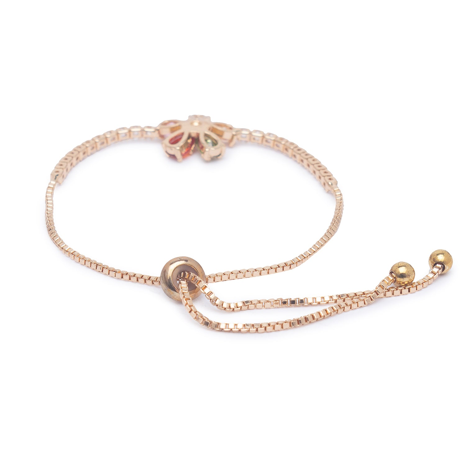 Globus Gold and Multi Friendship Bracelet-2