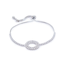 Load image into Gallery viewer, Globus Silver Friendship Bracelet-1