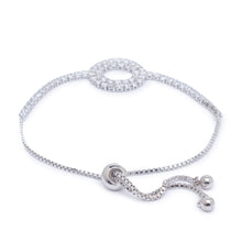 Load image into Gallery viewer, Globus Silver Friendship Bracelet-2