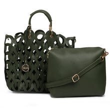 Load image into Gallery viewer, Globus Olive Hobo Bag-1