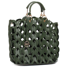 Load image into Gallery viewer, Globus Olive Hobo Bag-2