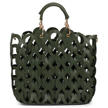 Load image into Gallery viewer, Globus Olive Hobo Bag-3