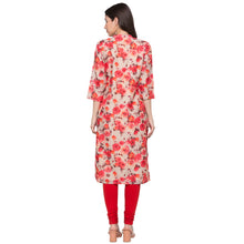 Load image into Gallery viewer, Globus Beige Printed Kurta-3