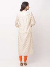 Load image into Gallery viewer, Globus White Embroidered Kurta-3