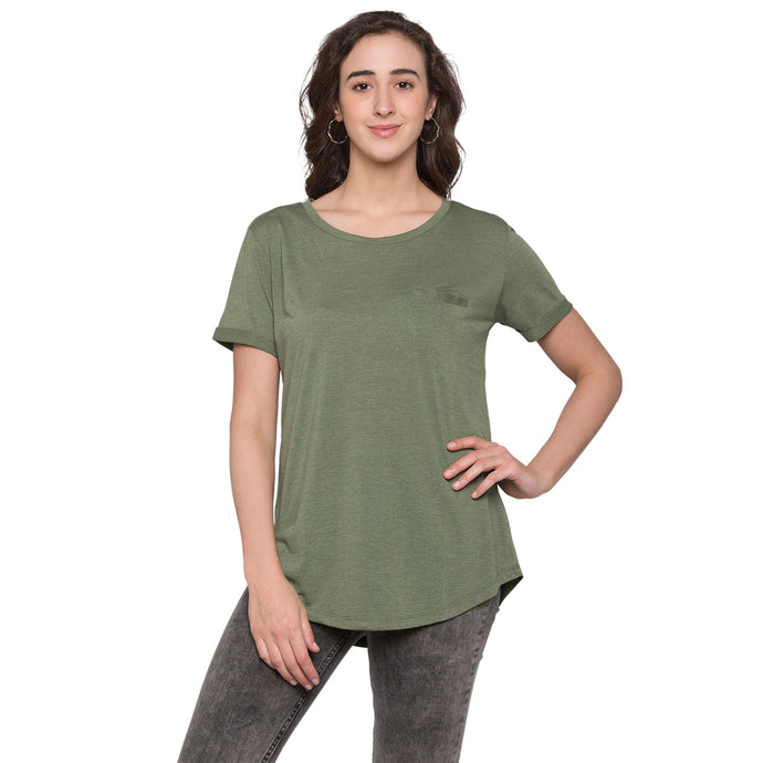 Globus Olive Solid Top1