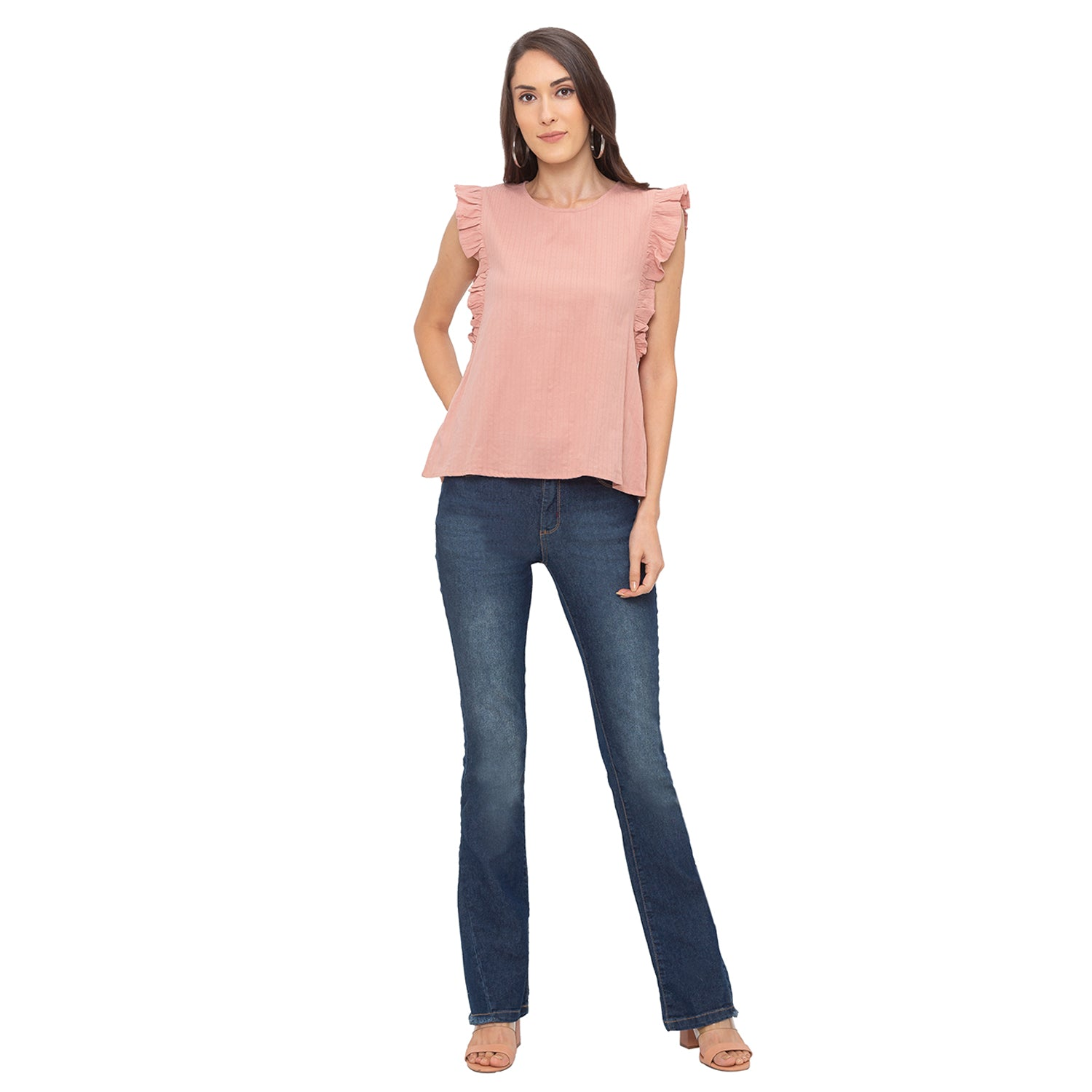 Globus Pink Striped Top-4