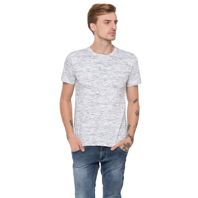 Globus White Printed T-Shirt-1