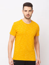 Load image into Gallery viewer, Globus Yellow Solid T-Shirt-1