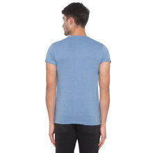 Load image into Gallery viewer, Indigo Blue Solid T-Shirt-3