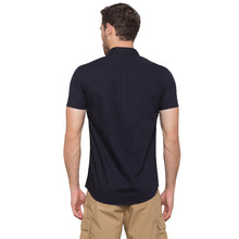 Load image into Gallery viewer, Globus Navy Blue Solid Shirt3