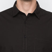 Load image into Gallery viewer, Globus Black Solid Shirt-5