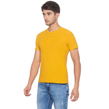 Load image into Gallery viewer, Yellow Solid T-Shirt-2