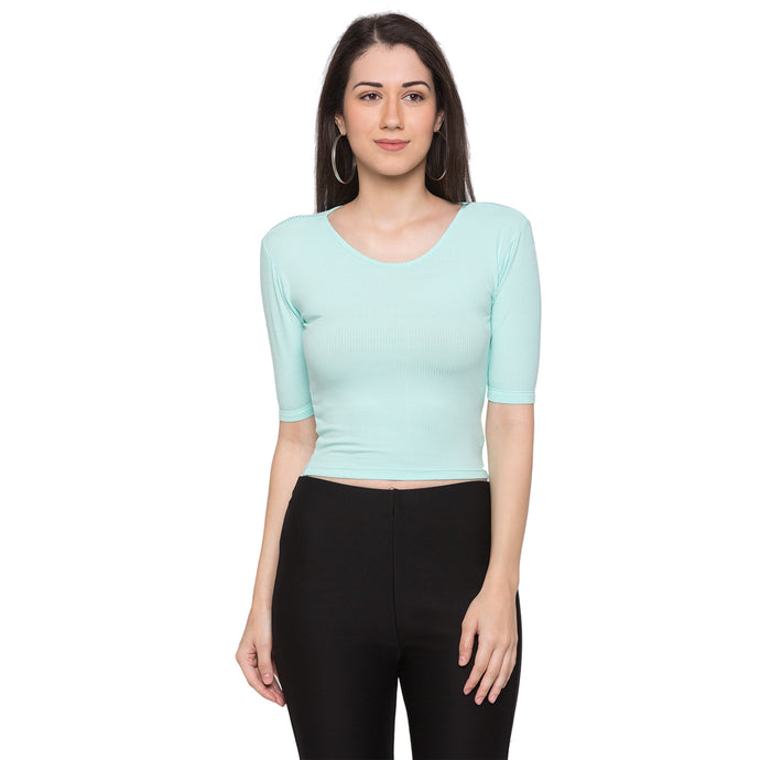 Globus Green Striped Top1