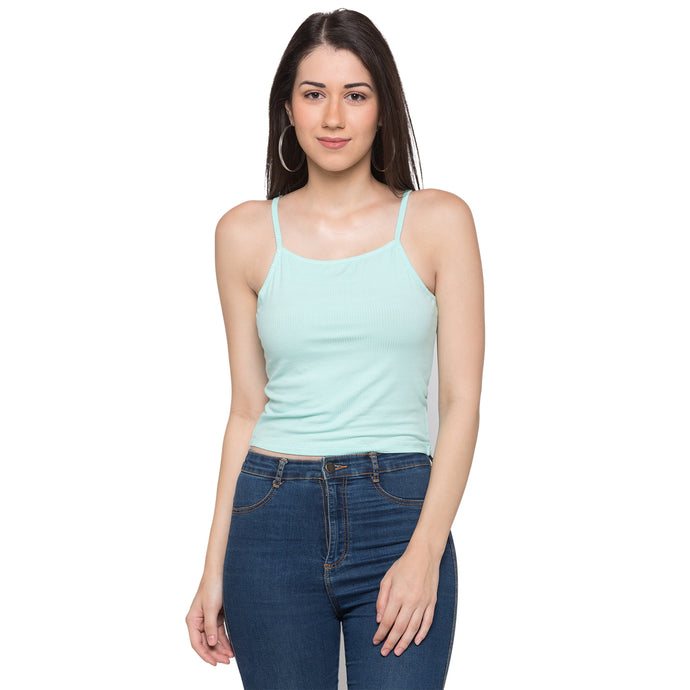 Globus Green Striped Tank Top1