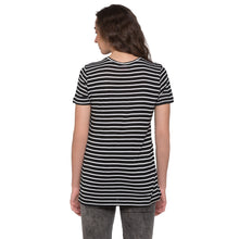 Load image into Gallery viewer, Globus Black & White Striped Top3