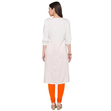 Load image into Gallery viewer, Globus White Embroidered Kurta3