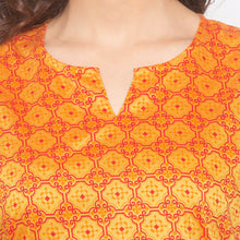 Load image into Gallery viewer, Yellow Printed Kurta-5
