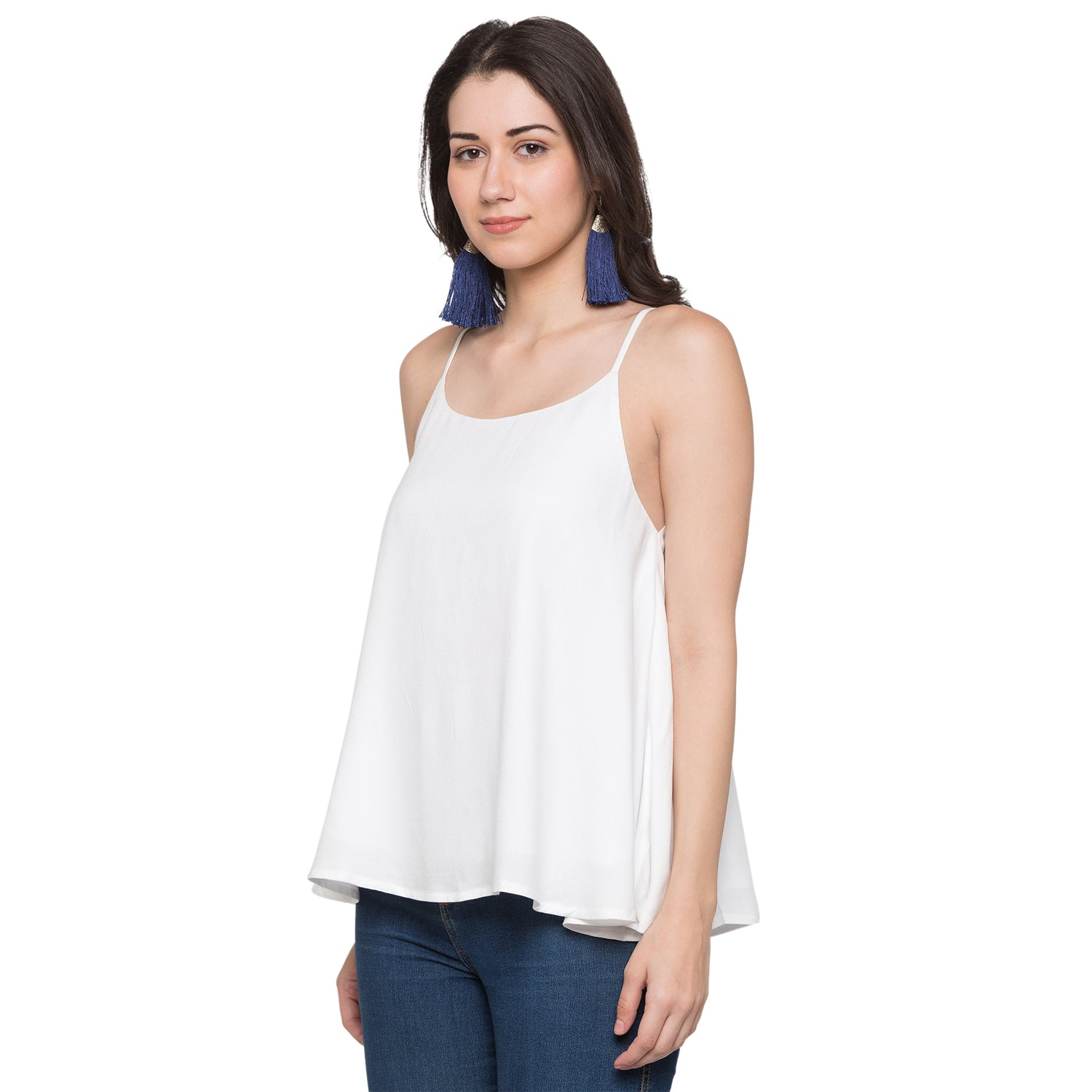 Globus White Solid Top-2
