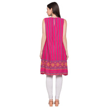 Load image into Gallery viewer, Globus Pink Striped Kurta-3