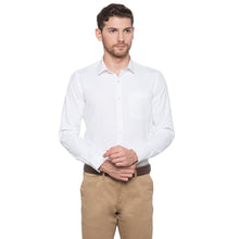 Load image into Gallery viewer, Globus White Solid Shirt1