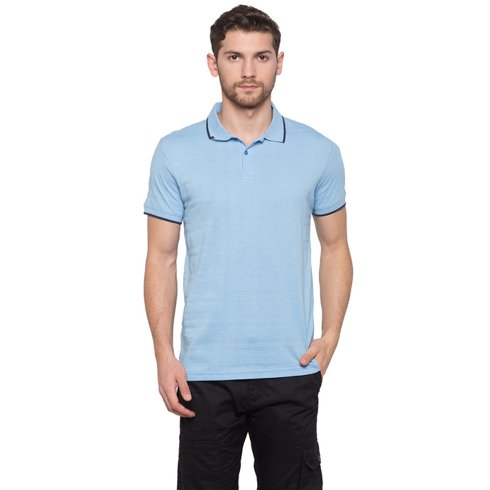 Globus Blue Striped Polo T-Shirt1