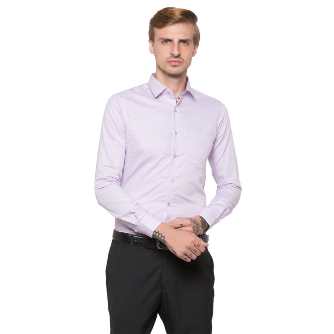 Globus Purple Solid Shirt-1